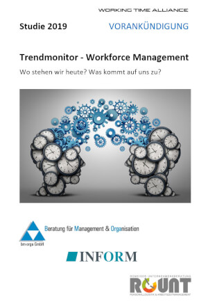WTA Studie 2019 - Trendmonitor Workforce Management